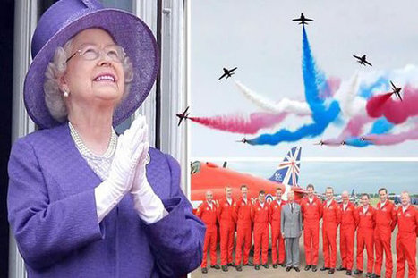 Queen Fears Red Arrows Axe as it Reaches its 50th Anniversary - Share on Meebal.com | Worldwide News | Scoop.it