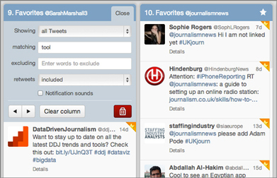 TweetDeck - for its new column filter | Convergence Journalism | Scoop.it