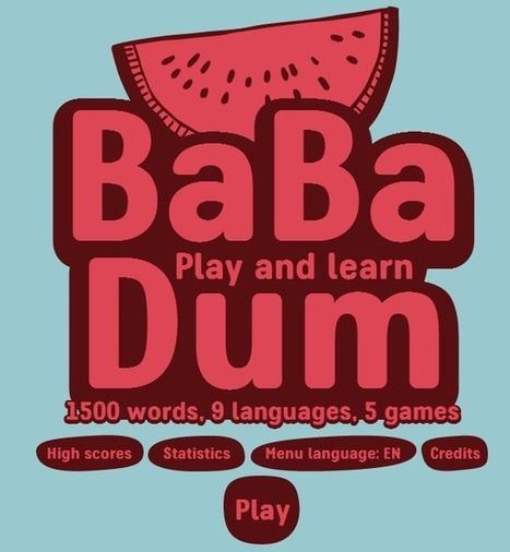 Babadum.com pour apprendre du vocabulaire en 9 langues | hammami | Scoop.it