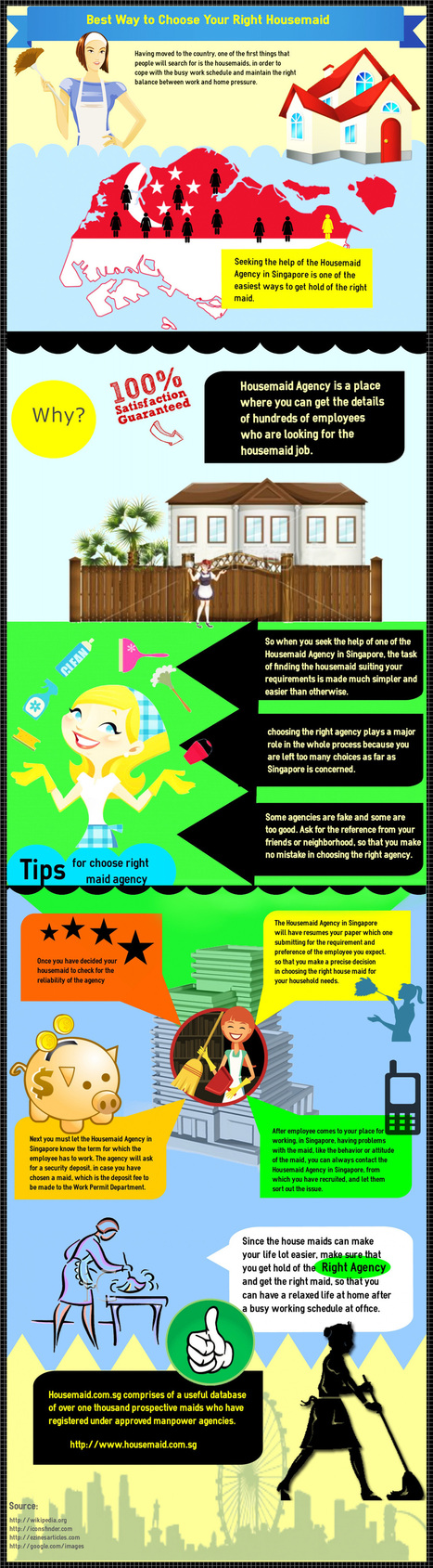 Maid Agency Singapore   infographicsmaker   Scoop.it