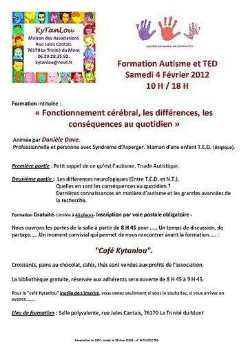 Autisme et TED - Fonctionnement cérébral, les différence, les conséquences au quotidien - 4 fév 2012 | Autisme actu | Scoop.it