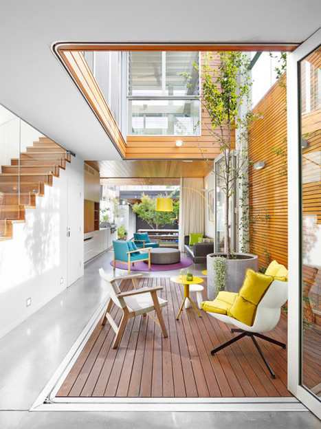 10 Modern Houses with Interior Courtyards - Design Milk | A. Perry Design Lounge | Scoop.it