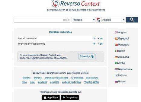 Reverso Context. Outil de traduction en contexte – Les Outils Tice | Les outils du Web 2.0 | Scoop.it
