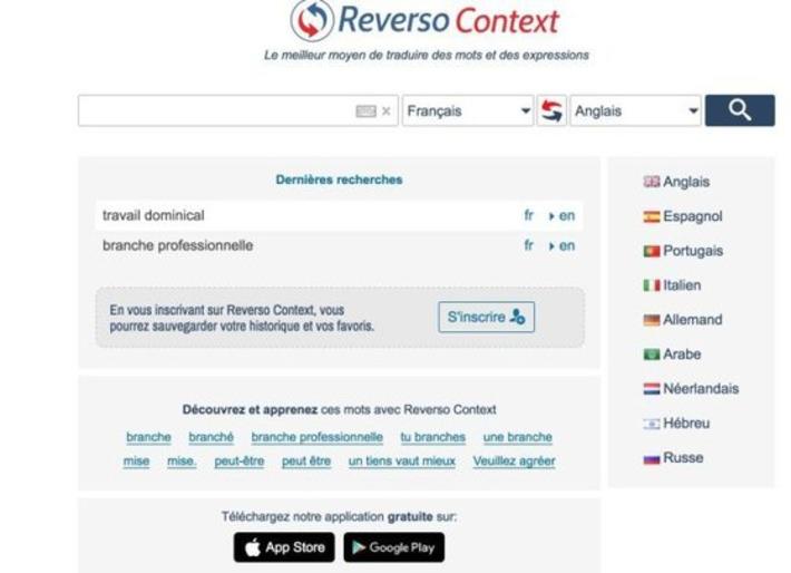 Reverso Context. Outil de traduction en contexte – Les Outils Tice | TIC et TICE mais... en français | Scoop.it