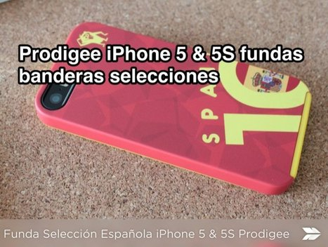 World Cup Rio Series Spain iPhone 5 Case Prodigee (Review)   Reviews iPhone iPad accesorios   Scoop.it