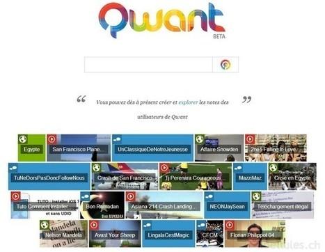 Un nouveau moteur de recherche d'origine française- Qwant - Les news de libellules.ch. Sachez le ! | Protection Vie privée | Scoop.it