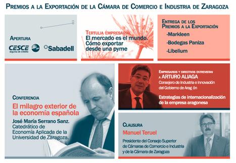 Entrega de los Premios a la Exportación 2012   Comercio internacional   Cámara Zaragoza   Actualidad Agrícola   Scoop.it