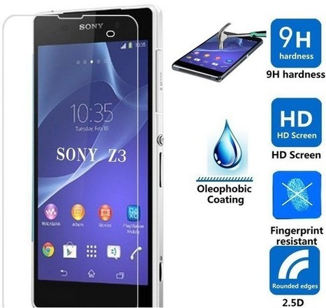 0.3mm Tempered Screen Protector for Sony Xperia Z3 | Mobile Phone Accessories | Scoop.it
