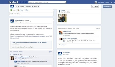 Social media fail at El Al as Open Skies strike grounds services | Tourism Social Media | Scoop.it