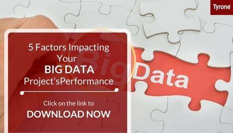 5 Factors Impacting Your Big Data Project's Performance Download our #Presentation for free. Click on this link to download now: http://goo.gl/nam2BD | tyrone | Scoop.it