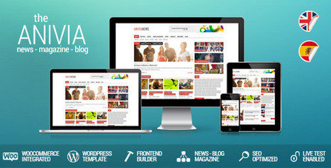 Anivia – A Perfect Multipurpose Template with News, Blog ... | internet marketing | Scoop.it