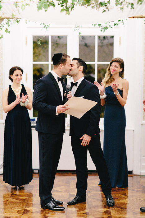 Two Grooms are better than One | Vienna Same-Sex Wedding | artesaniaflorae | Scoop.it