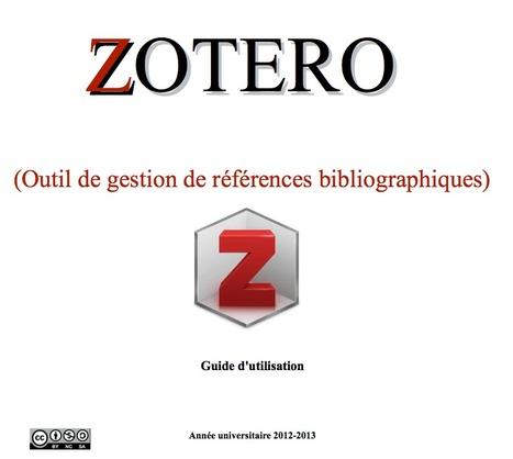 Zotero : Guide d'utilisation et Formation | Zotero | Scoop.it