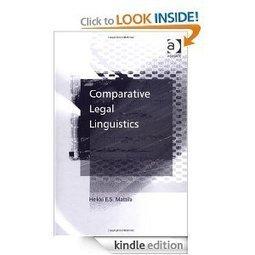 Comparative Legal Linguistics: Heikki E.S. Mattila: Amazon.com: Kindle Store | Chilean Spanish | Scoop.it