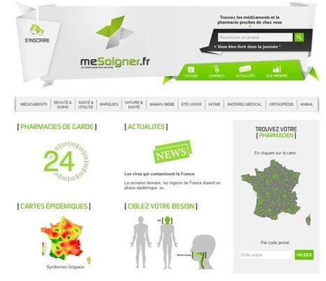 Mesoigner : plateforme d'e-pharmacie | La Pharmacie d'officine vers une économie de services | Scoop.it
