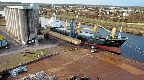 Céréales. Le port de Caen va-t-il souffrir des mauvaises moissons ? - Ouest France | Revue de presse sur l'agriculture, l'environnement, le territoire, l'agroalimentaire en Normandie | Scoop.it
