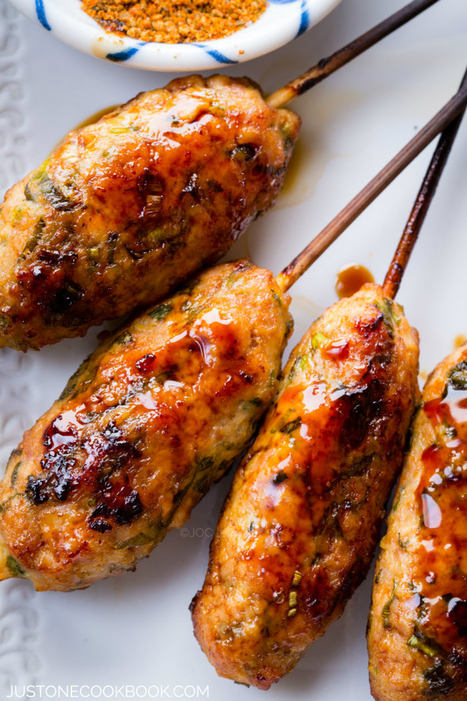 #HealthyRecipe ~ Tsukune | The Man With The Golden Tongs Goes All Out On Health | Scoop.it