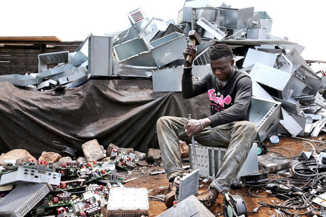 An Infamous E-Waste Slum Needed Us. It Got Razed Instead | Electronics - Issues and Problems | Scoop.it