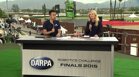 Live video and tweets from the #DARPADRC Finals | Robohub | The Robot Times | Scoop.it