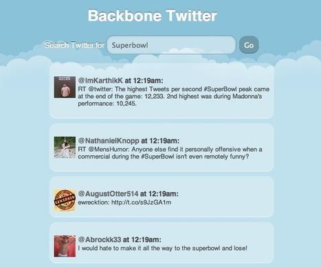 Backbone.js tutorial - create a simple Twitter search client | backbone js advanced | Scoop.it