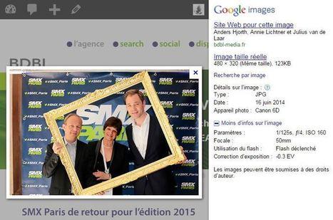SEO : Google prend-il en compte les métadonnées des images ? - bdbl media | Actu. SEO et Référencement | Scoop.it
