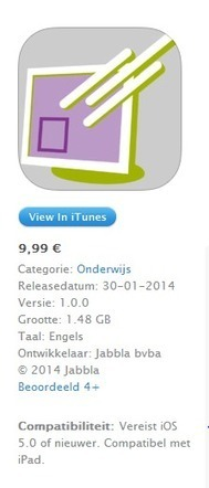 voorleessoftware sprint ( dyslexie ) nu in iTunes - ict op school ... het ... | Zorg en ICT | Scoop.it