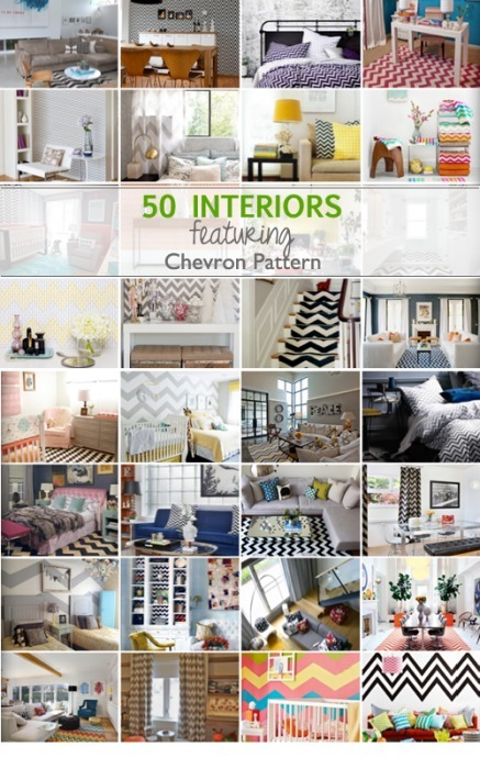 Chevron Pattern Extravaganza | Interior Design Ideas, Tips & Inspiration | Designing Interiors | Scoop.it