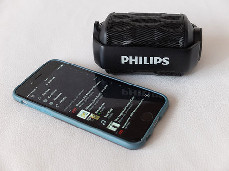 Altavoz bluetooth Philips Shoqbox mini BT2200, resistente al agua y flotante | Curiosidades y Ocio | Scoop.it