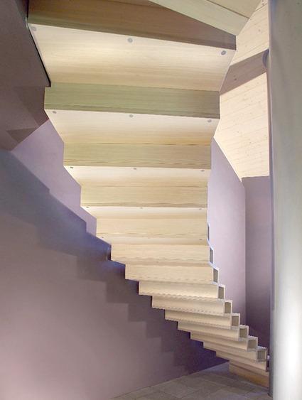 Modern Wood Stairs Design by Marretti | Trendir | Rendons visibles l'architecture et les architectes | Scoop.it