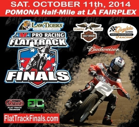 Excitement Building for the Upcoming Calistoga Half Mile!   California Flat Track Association (CFTA)   Scoop.it