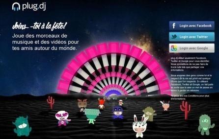 Boîte de nuit virtuelle, partage de musiques et de vidéos, Plug DJ | Freewares | Scoop.it