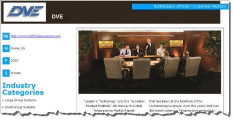 Company Profile: DVE | Telepresence - Video Conference | Scoop.it