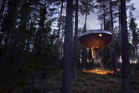 Swedish Tree Hotel is a Tree House Fantasy - Design - GOOD | all about hotel design | Scoop.it