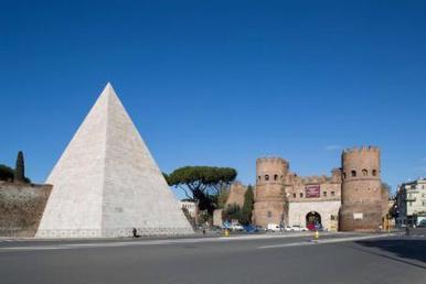 Roma: La Pirámide Cestia recupera su esplendor gracias al mecenazgo japonés | Mundo Clásico | Scoop.it