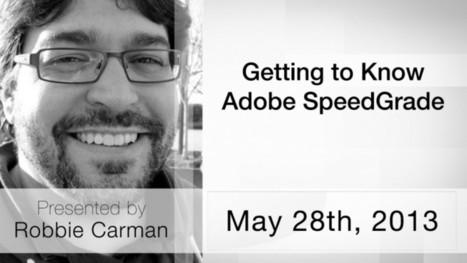 Moviola.com | Getting To Know Adobe SpeedGrade | M Studio Scoops | Scoop.it