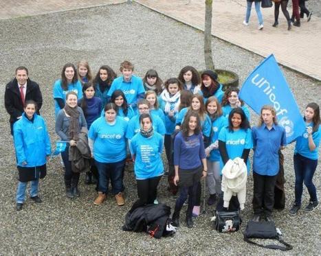 Montauban. Les jeunes ambassadeurs de l'Unicef réunis à Michelet   Revue de presse   Scoop.it