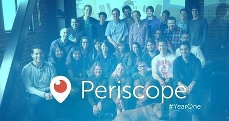 Periscope a 1 an et génère 110 années de vidéos en direct regardées par jour | Veille numérique e-tourisme | Scoop.it