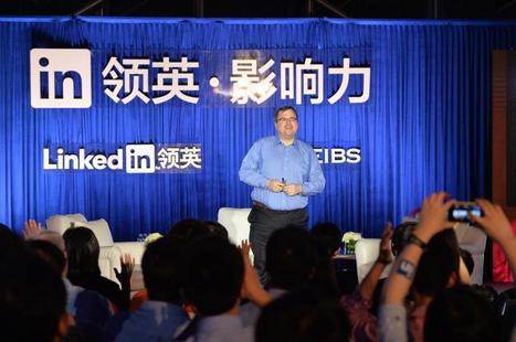LinkedIn Members In China Surpass Five Million | Social Media & E-Commerce in China | Scoop.it
