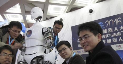 Robots are key in China's strategy to surpass rivals | Executive Coaching Growth | Scoop.it