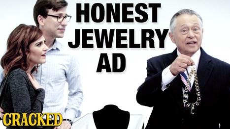 If Jewelry Commercials Were Honest - YouTube | Wandering Salsero | Scoop.it