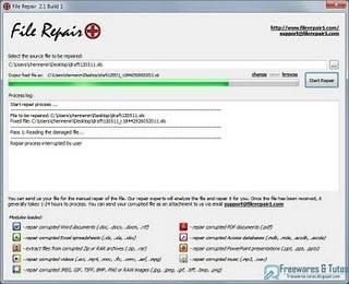 File Repair : un logiciel gratuit pour réparer les fichiers corrompus | Time to Learn | Scoop.it