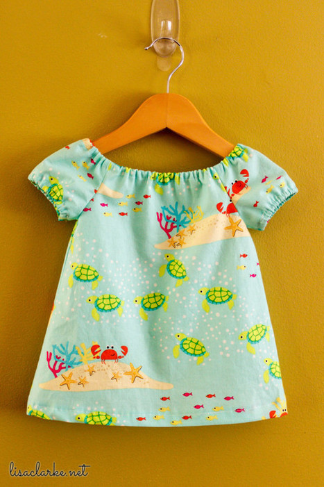 Little peasant dresses | Fiber Arts | Scoop.it