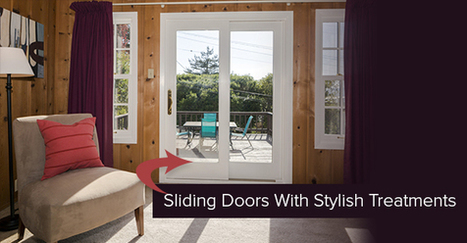 Stylish Window Treatment Options For Sliding Doors | Decor and Style | Scoop.it