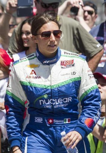 With Chevy power, Swiss IndyCar driver looks nothing like she used to | Dallas-Fort Worth Spo... | 2013 NASCAR Sprint Cup Schedule | Scoop.it