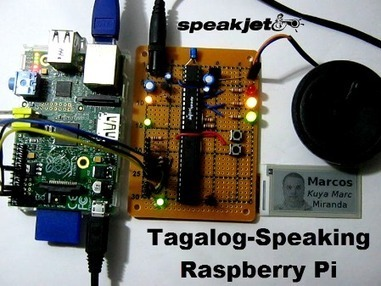 SpeakJet: Tagalog-speaking Raspberry Pi written in Python | Raspberry Pi | Scoop.it