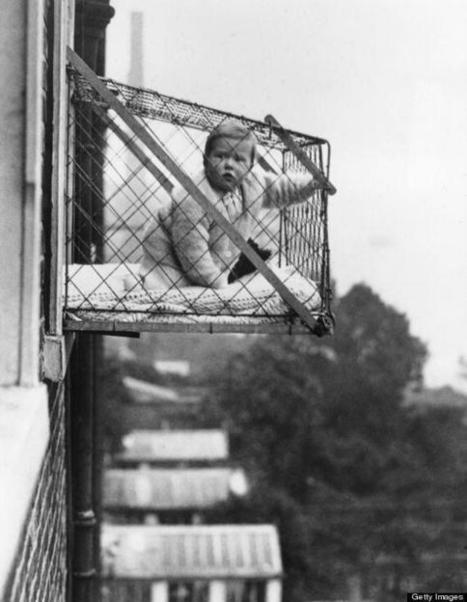 Twitter / HistoricalPics: The baby cage, for hanging ... | Lifestyle | Scoop.it