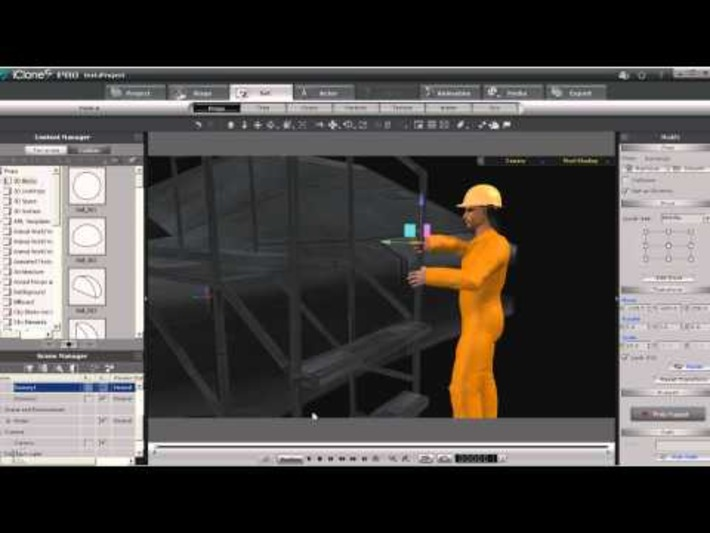 How to Simulate Pushing an Object – iClone tutorial by Warlord « Safegaard – Movie Theater | Machinimania | Scoop.it