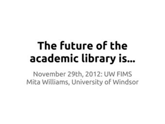 New Jack Librarian: The future of libraries is...   innovative libraries   Scoop.it