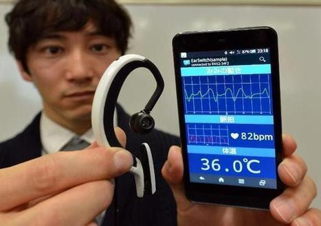 Japan researchers testing tiny ear computer | Taylor Hohulin's Show Prep | Scoop.it
