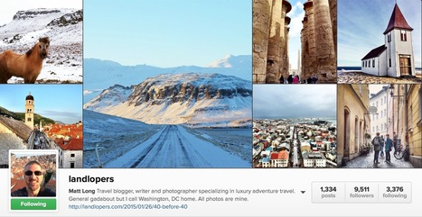 17 Awesome Instagram Travel Bloggers You Should Be Following | Instagram | Scoop.it